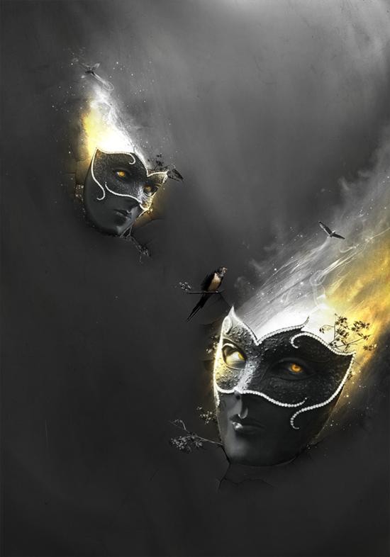 Masks of Fate by Alex dos Santos
