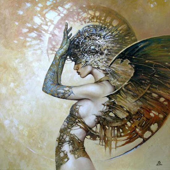 Wonderful illusion painting by Karol Bak