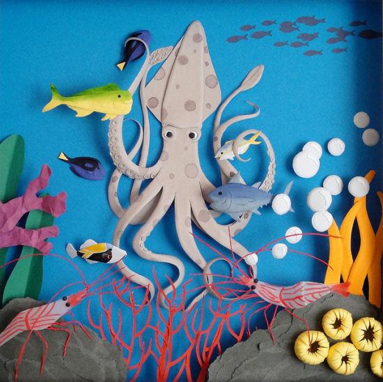 Paper Artworks by Cheong-ah Hwang