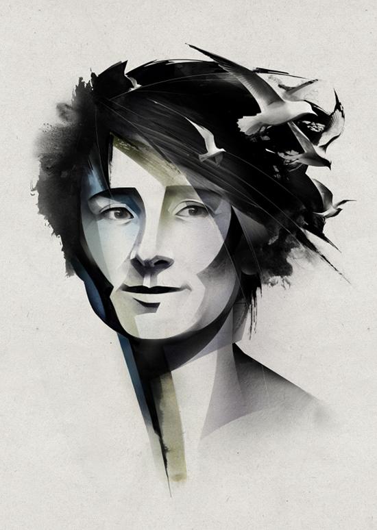 Beautiful illustrations by Alexey Kurbatov