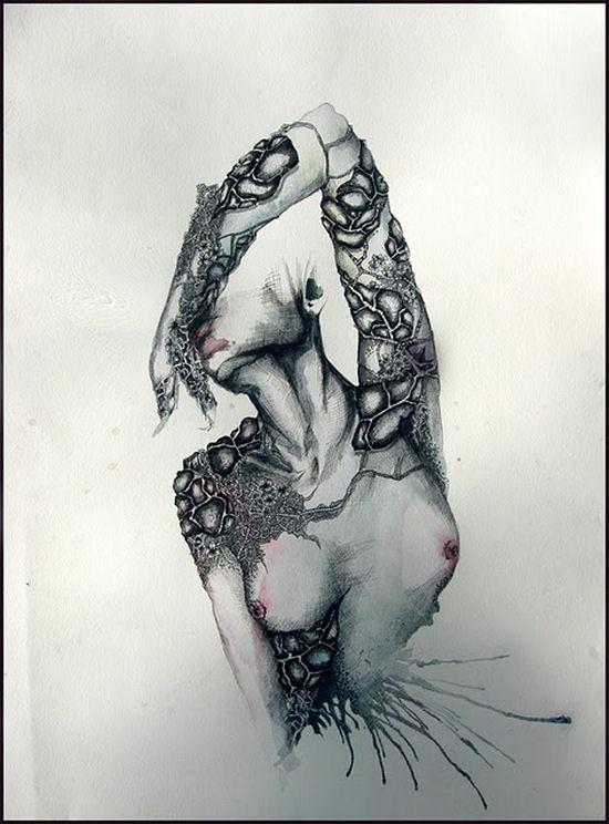 Amazing illustrations by Juli Jah