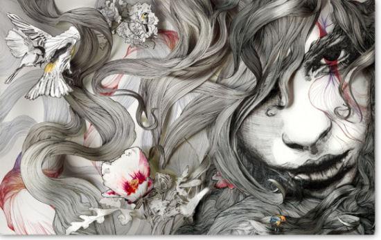 Wonderful illustrations by Gabriel Moreno