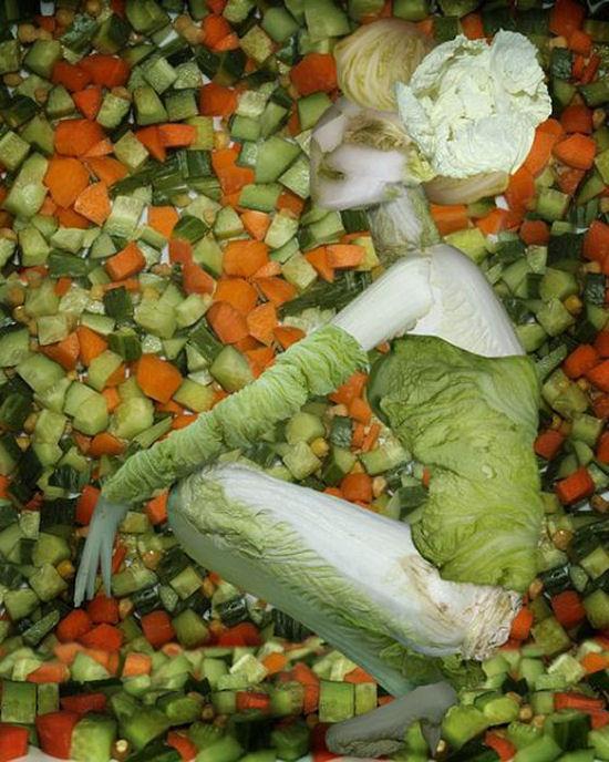 Sexy veggies by Ju Duoqi