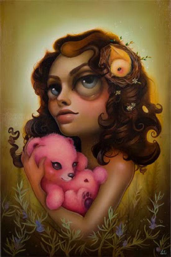 Tati Suarez – Charming childlike exotic paintings