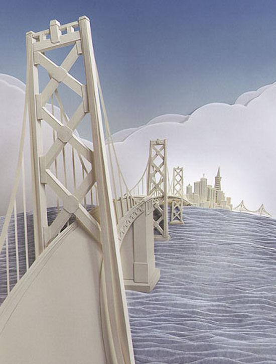 Wonderful paper art from Calvin Nicholls