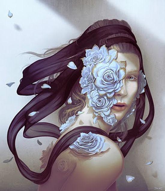 Fantastic digital paintings by Daniel Conway