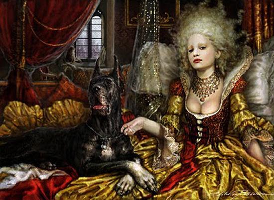 Beautiful photo-realistic art of Ekaterina Pushkarova