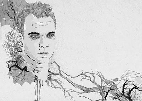 Tenderly illustrations by Irina Bogos