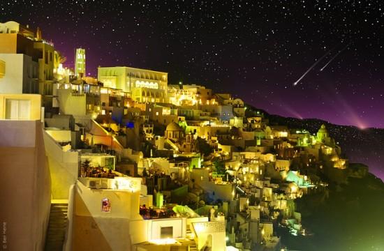Breathtaking landscape photography from Ben Heine - Fira (Santorini, Greece), last summer