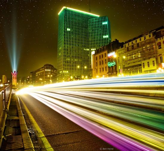 Breathtaking landscape photography from Ben Heine - Brussels By Night