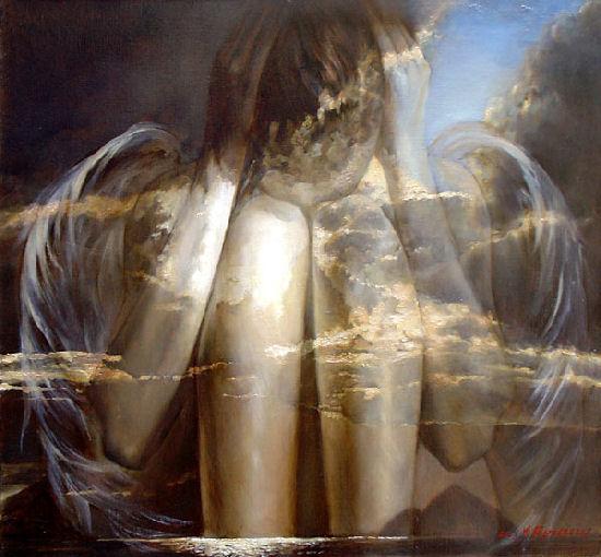 Sense and sensibility, surreal paintings by Podgaevskaya Marina