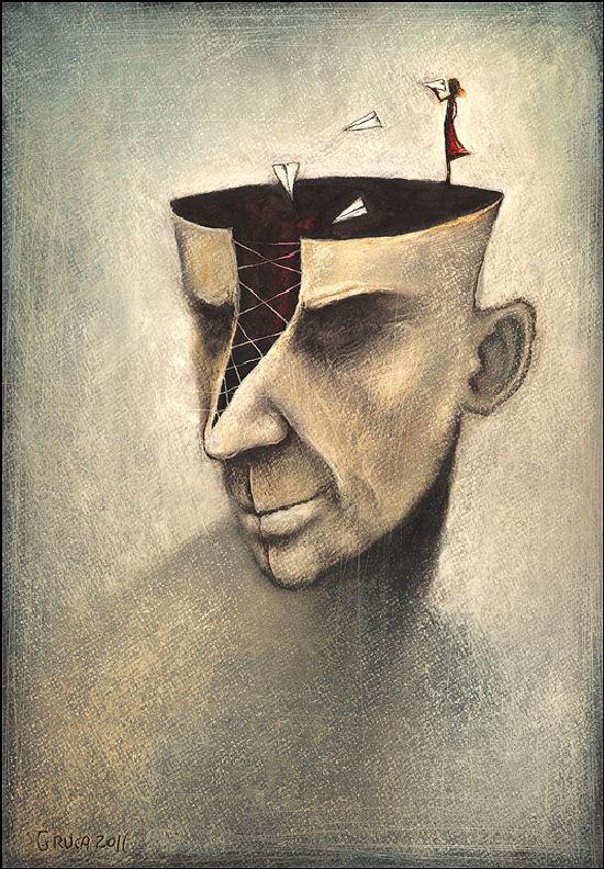 Amazing conceptual drawings by Slawek Gruca