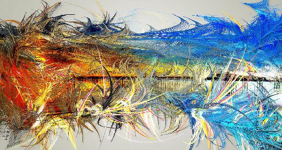 Astonishing generative paintings by Gwen Vanhee