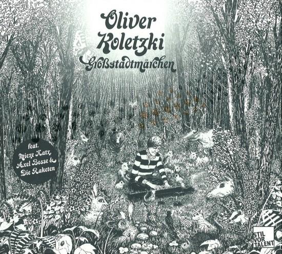 Oliver Koletzki - Großstadtmärchen - album cover design