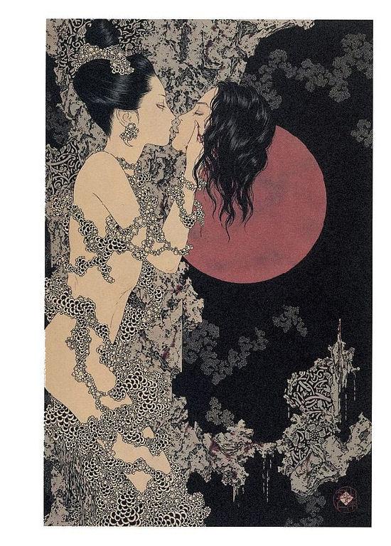 Between Eros and Thanatos – Fantastic paintings of Japanese Takato Yamamoto