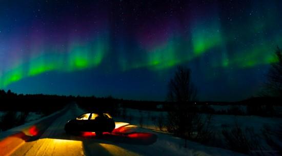 The Aurora by Terje Sorgjerd, a vibrant dimension