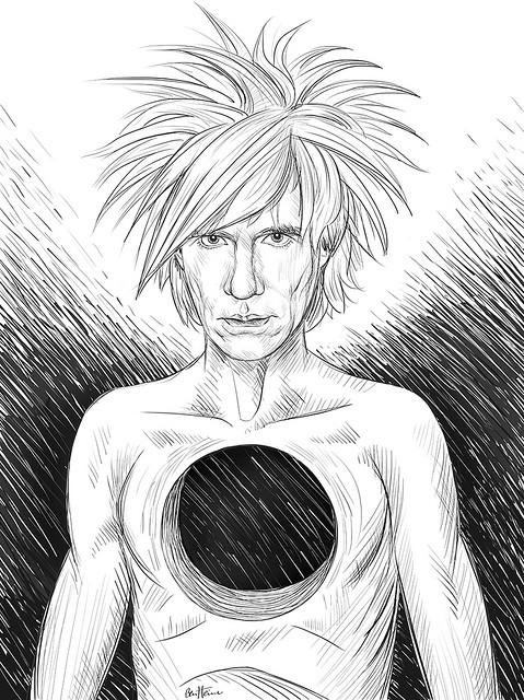 Ben Heine, fantastic artworks - Andy Warhol