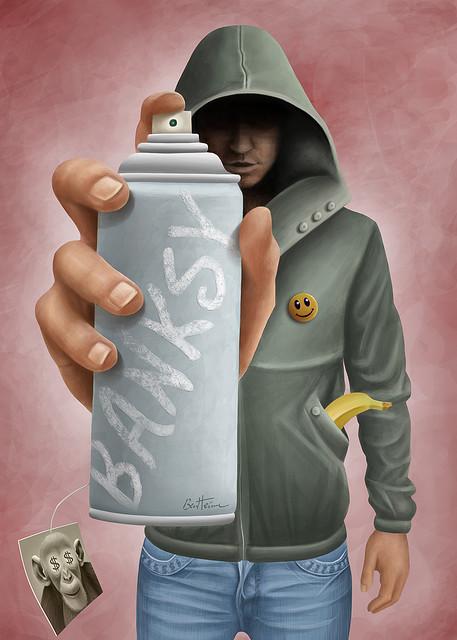 Ben Heine, fantastic artworks - banksy