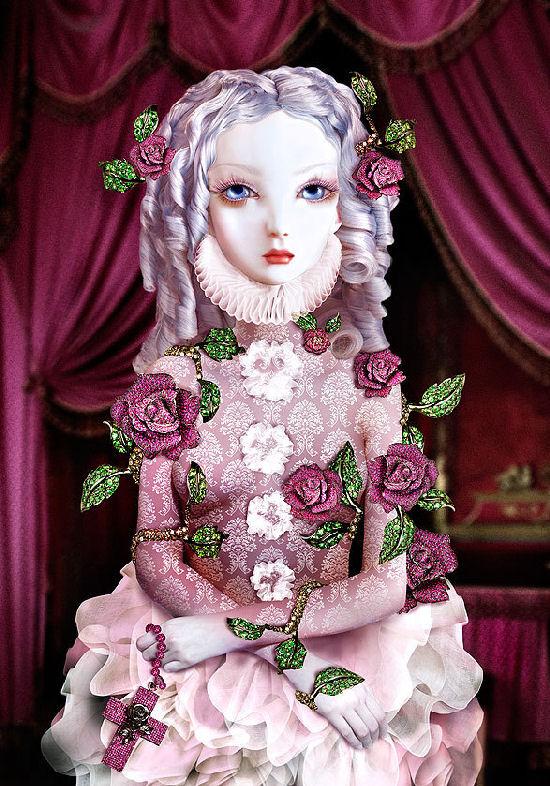 Extraordinaires bijoux pour Lydia Courteille by Natalie Shau