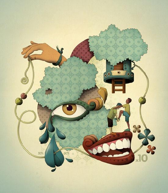 Leandro Lima and his creative universe