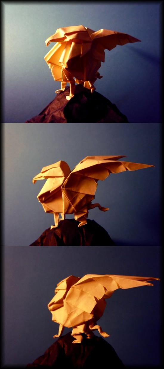 Paper brought to life. Amazing papercraft skills of Richard Wong