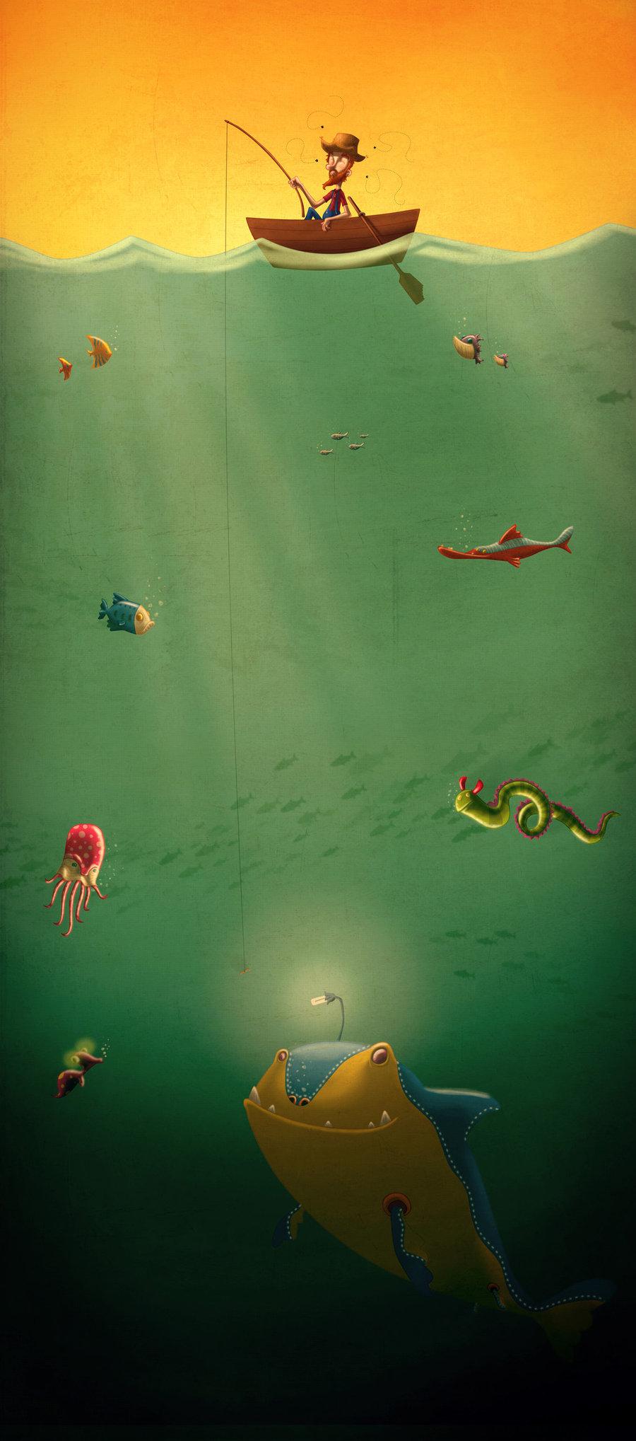 Amusing illustrations from Henrique Jorge