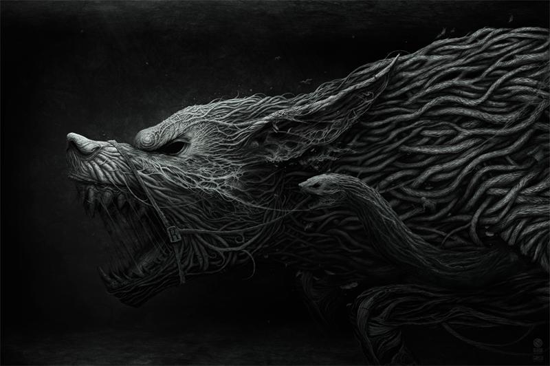 Powerful, disturbing visual emotions from the Russian designer Anton Semenov