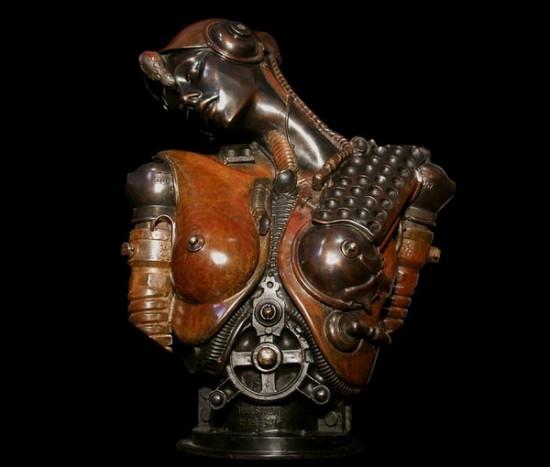 Let's get steampunk! Sculptures by Pierre Matter