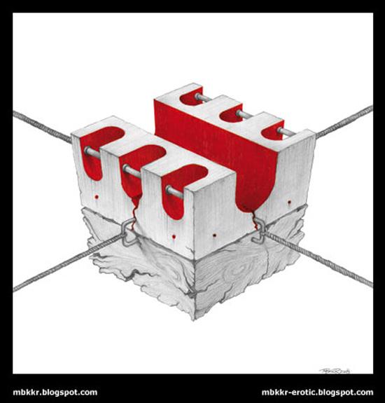 Inner Cubes by Marcel Bakker