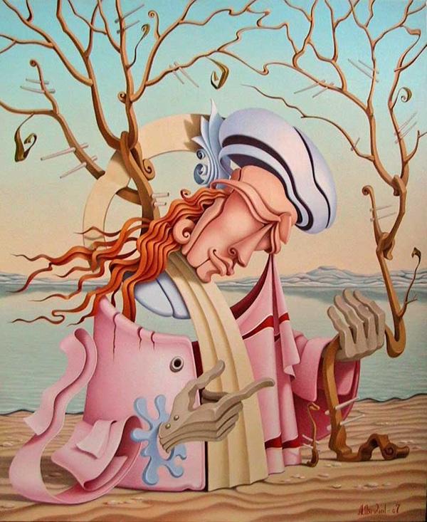 Fascinating surreal paintings by Alexander Lyamkin
