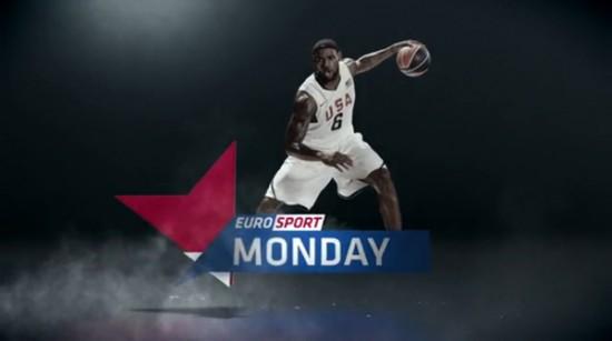 The new impressive EuroSport branding and TV idents