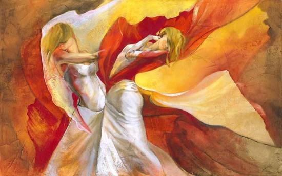 Lena Sotskova: oil paintings