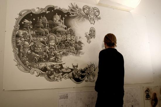 Excellent drawings by Joe Fenton