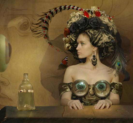 Amazing style, photo manipulations by Vladimir Fedotko