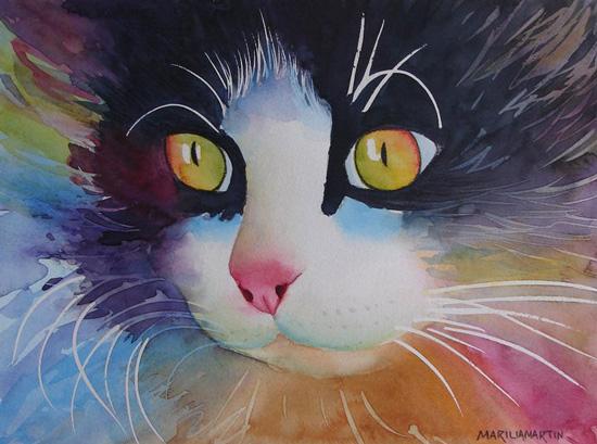 Paintings by Marilia Martin