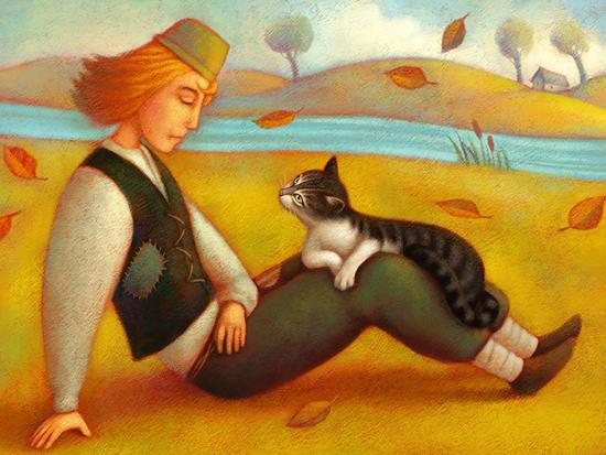 Children's illustrations by Paolo Domeniconi