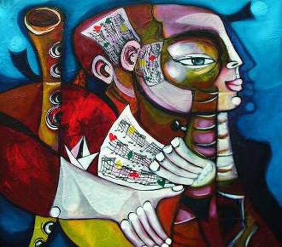 Paintings by Humberto de Jesús Viñas García