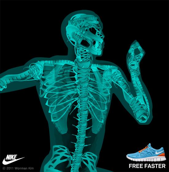 Nike X-ray designs