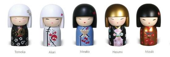 Kimmidoll - Japanese Matryoshka