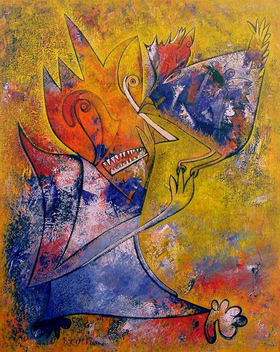 Paintings by Michail Kudinow