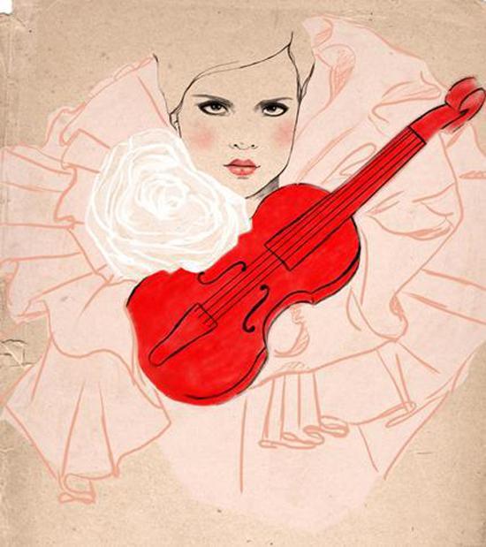 Delightful illustrations created by Sandra Suy