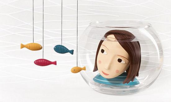 Three-dimensional models of polymer clay by Irma Gryunholts (Irma Gruenholz)