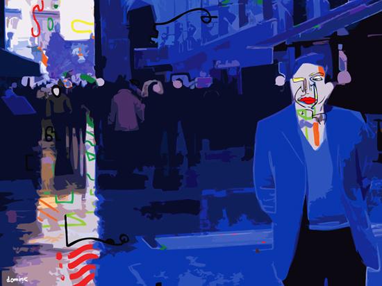 Inspiring digital art by Dominic Brown