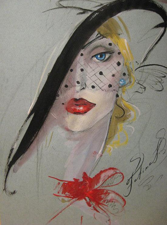 Superbe paintings by Tomaeva Fatima