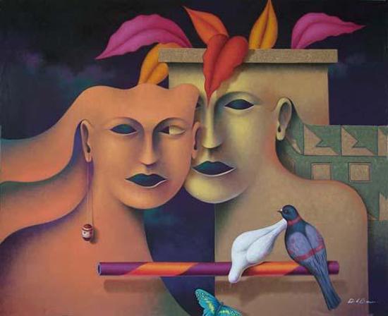 Mystic allegorias about the universe by Jose De la Barra