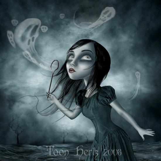 Digital art by Toon Hertz