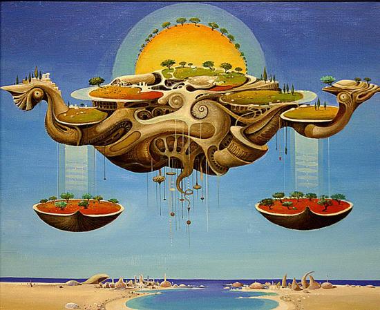 Surreal zodiac by Vasko Taškovski