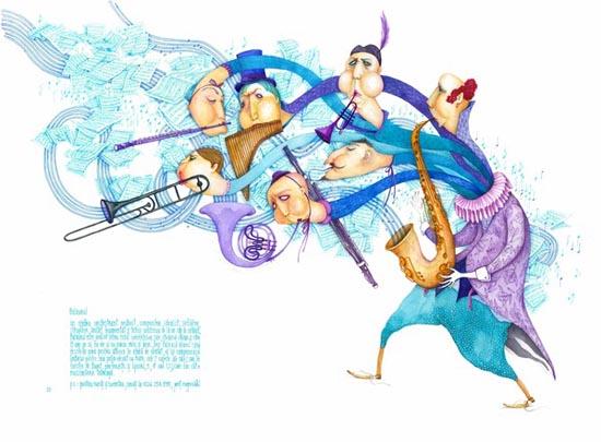 Heart-melting lovely illustrations from Madalina Andronic