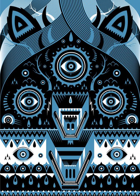 Sebastien Feraut aka Niark1: graphic design, illustration and fine art