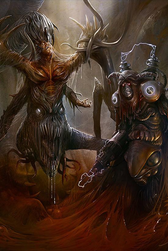 Fantasy art by Yigit Koroglu